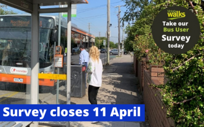 Victoria Walks survey for bus users